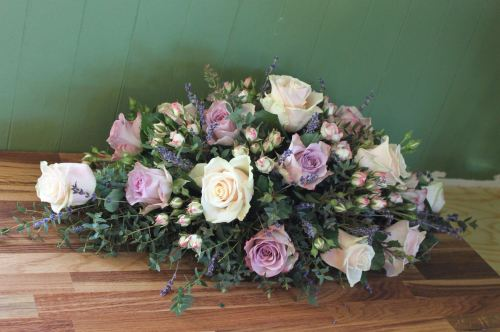 mixed rose spray
