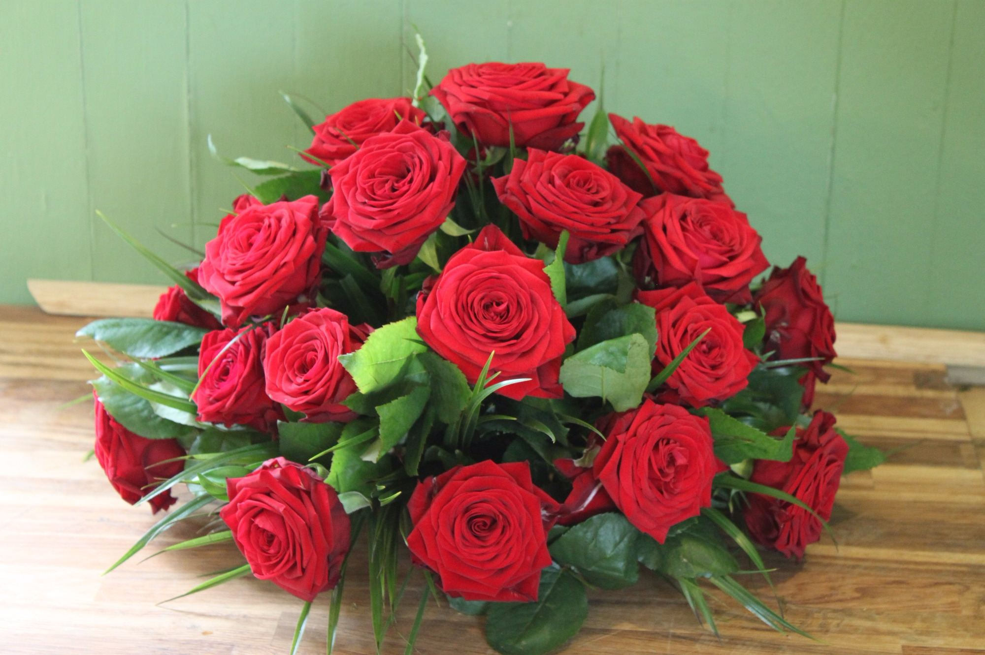 Red Naomi Rose Posy