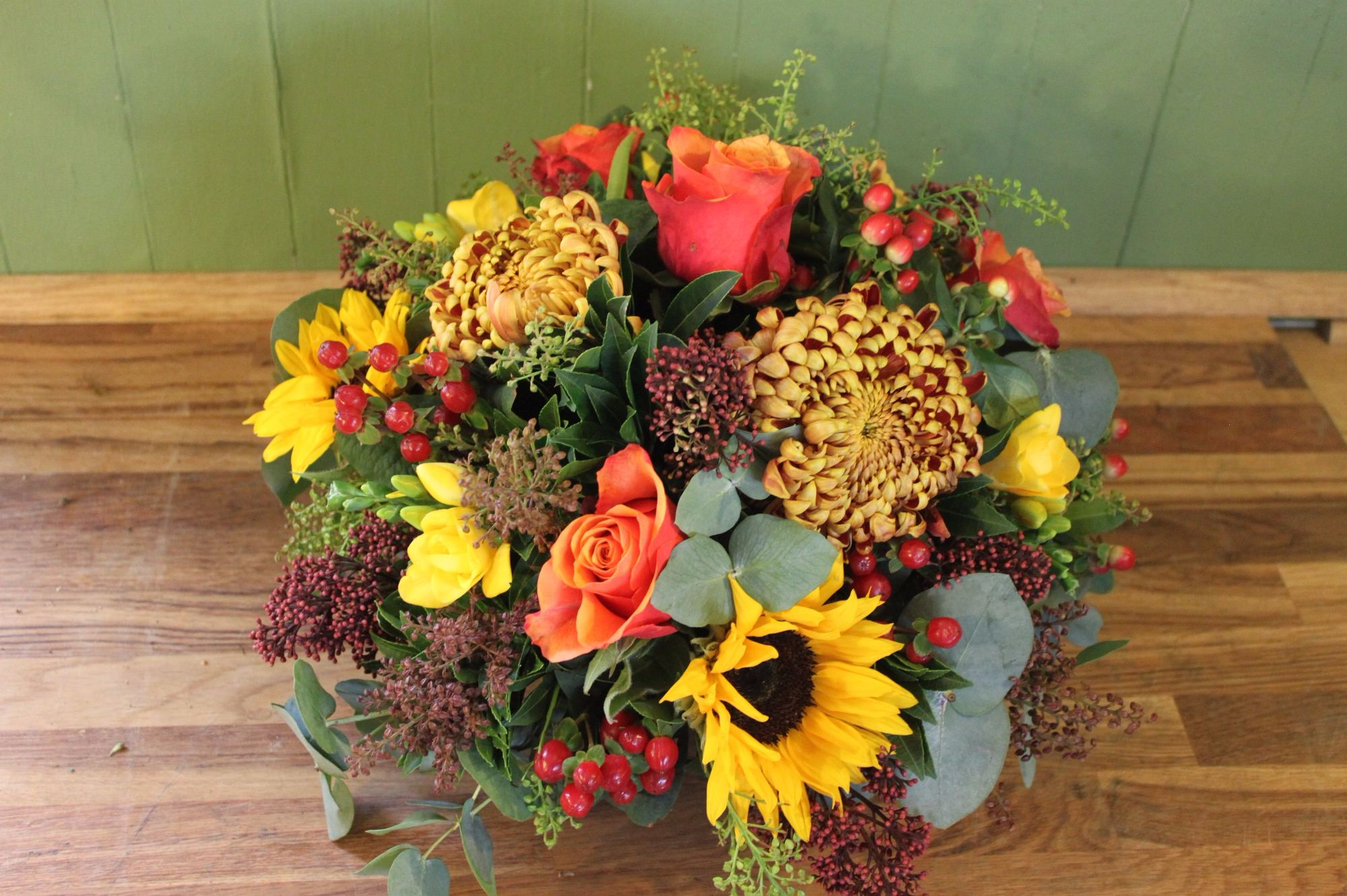 Bright Autumnal Posy