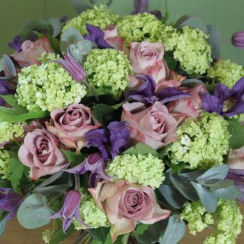 Vintage Rose, Clematis and Guelder Rose. Price from