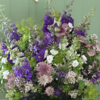 Cottage Garden Purples Bouquet