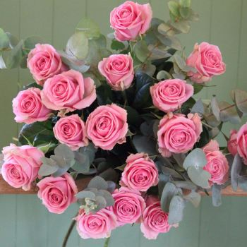 Pink Rose Bouquet. Price from