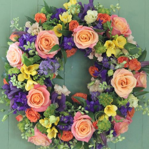 Eclectic Wreath