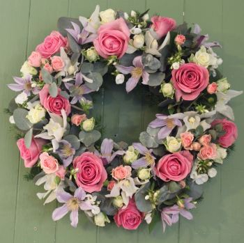 A Pastel Wreath