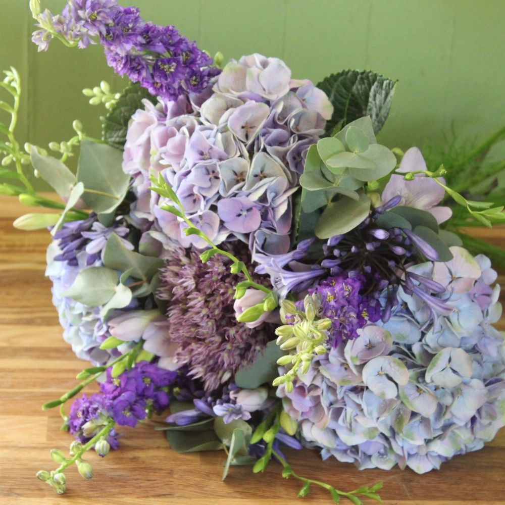 Cottage Purples Bouquet