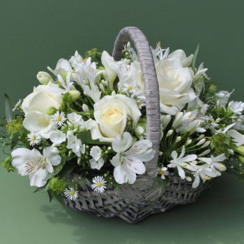 Classic White Basket. Price from