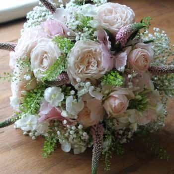 Blush Hand-tied Posy. Price from