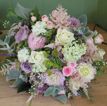 Country Meadow Compact Hand-tied Posy. Price from