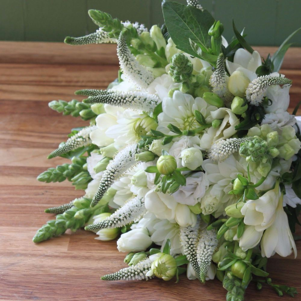 Classic White Hand-tied Posy