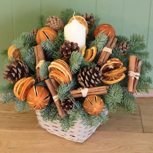 Orange and Cinnamon Basket