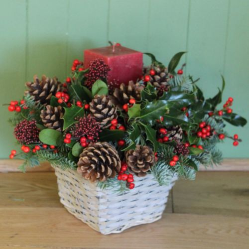 Winter Berry Basket