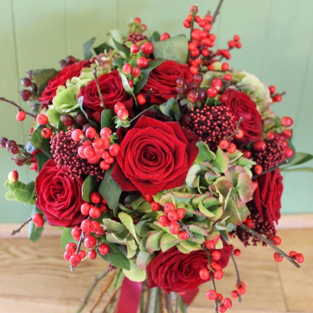 Classic Christmas Posy Bouquet