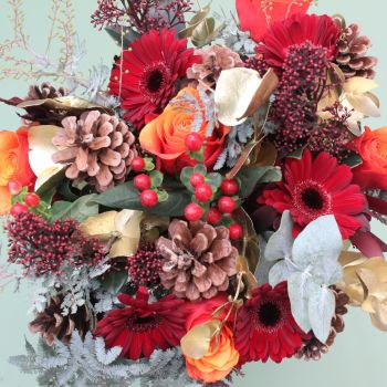 Hues of Autumn  Bouquet