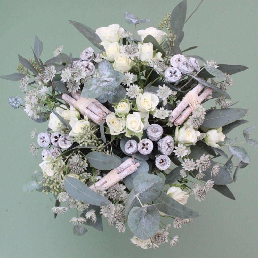 White Eucalyptus Bouquet