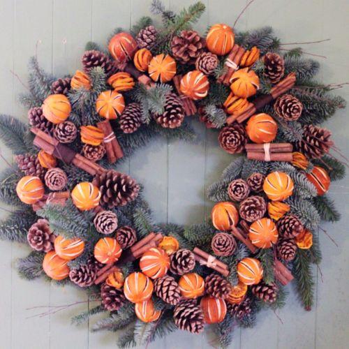 Orange and Cinnamon Wreath