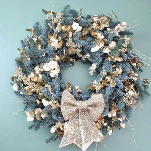 Opulent Gold Wreath