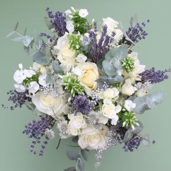 Lavender and Silver Bouquet