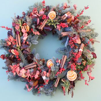 Mulled Wine Wreath