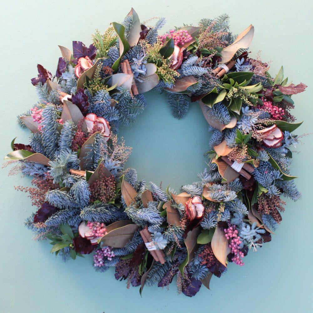 Spiced Apple Wreath