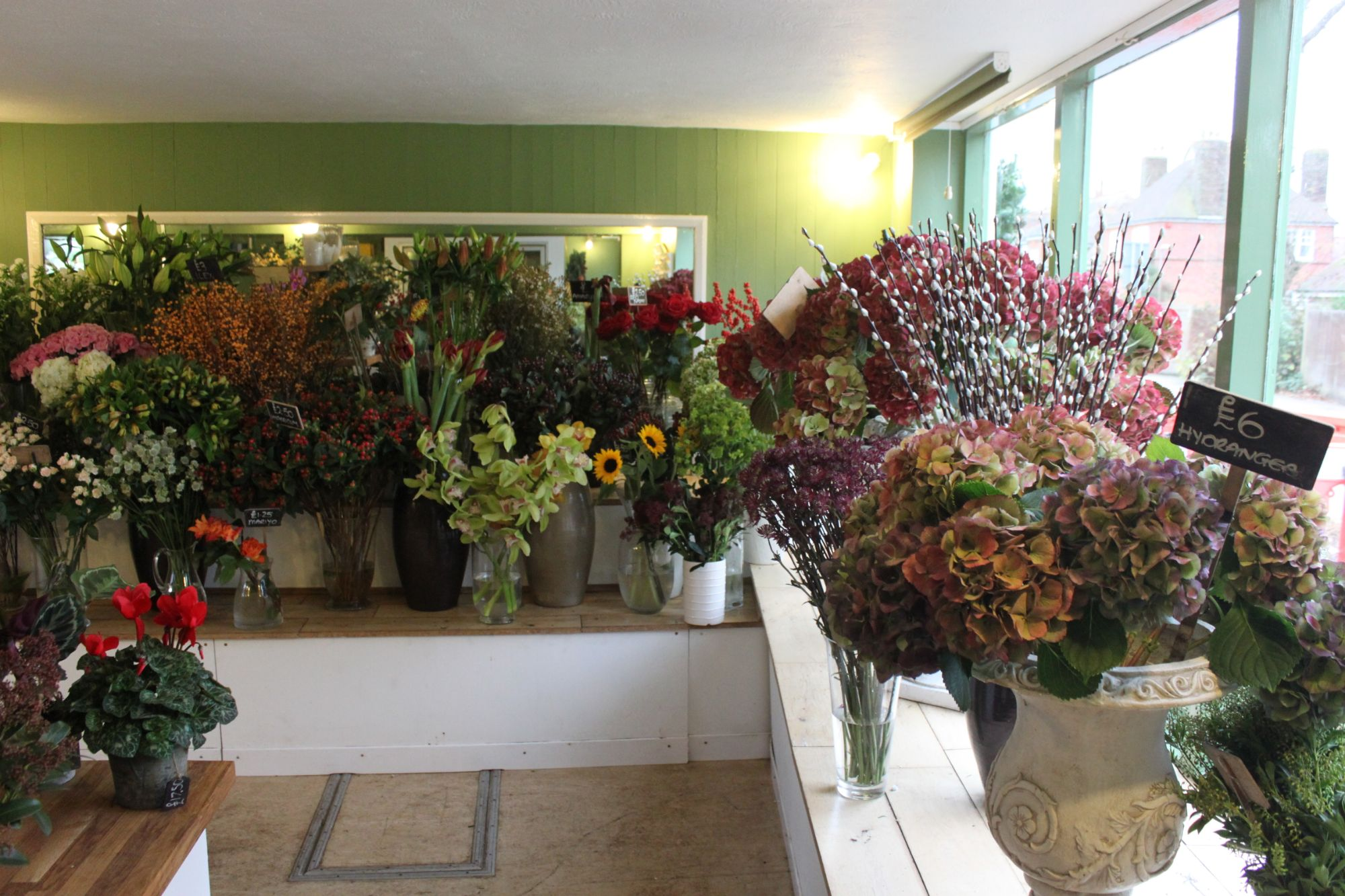 florist in Sayers Common