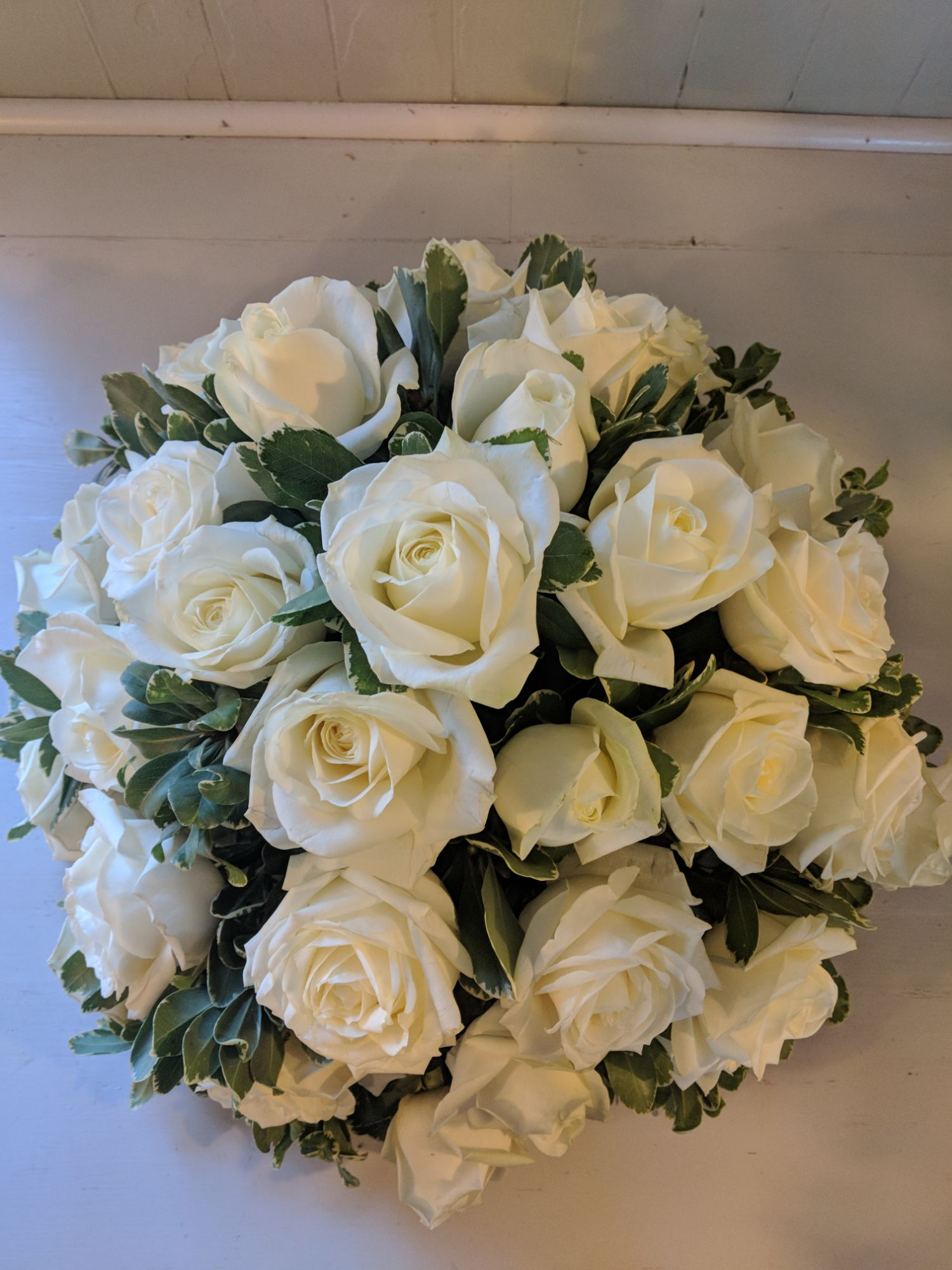 posy funeral arrangement Hassocks