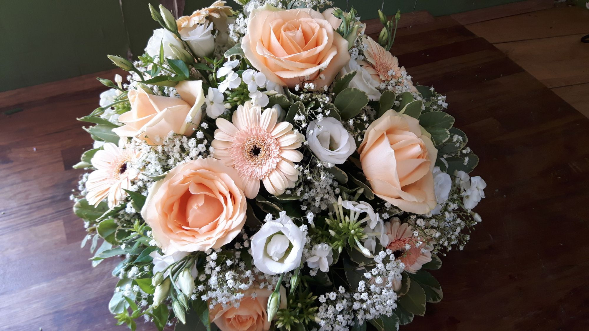 posy arrangement funeral flowers