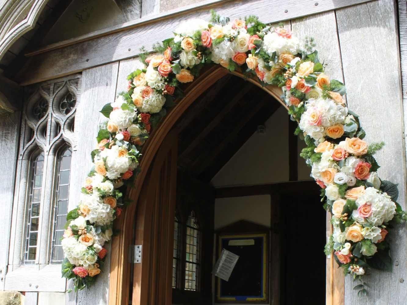 wedding flowers in Fletching