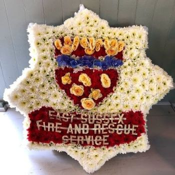 2d East Sussex Fire & Rescue Badge