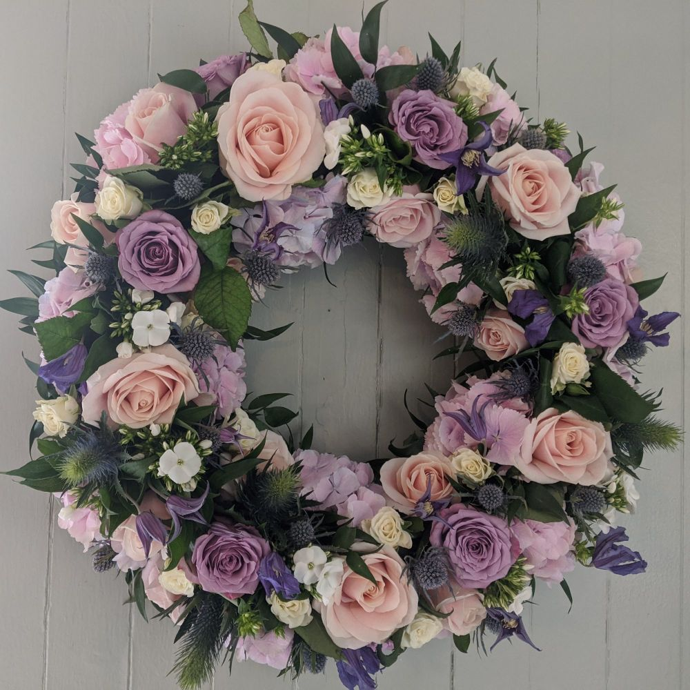 Pink & Lilac Wreath