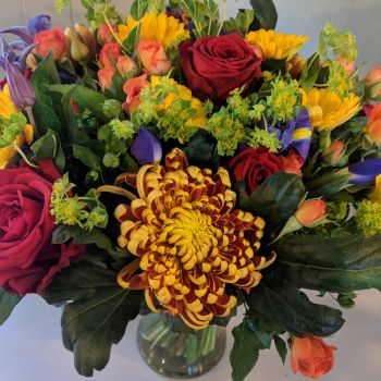 Bright Autumnal Vase. Price from