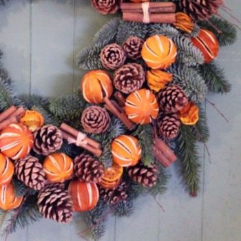Orange and Cinnamon Garland