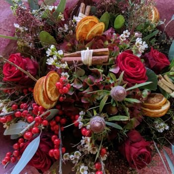 Christmas Meadow Bouquet