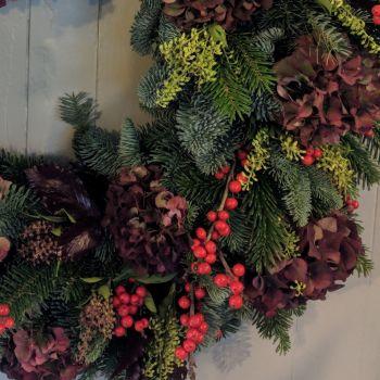 Rustic Christmas Garland