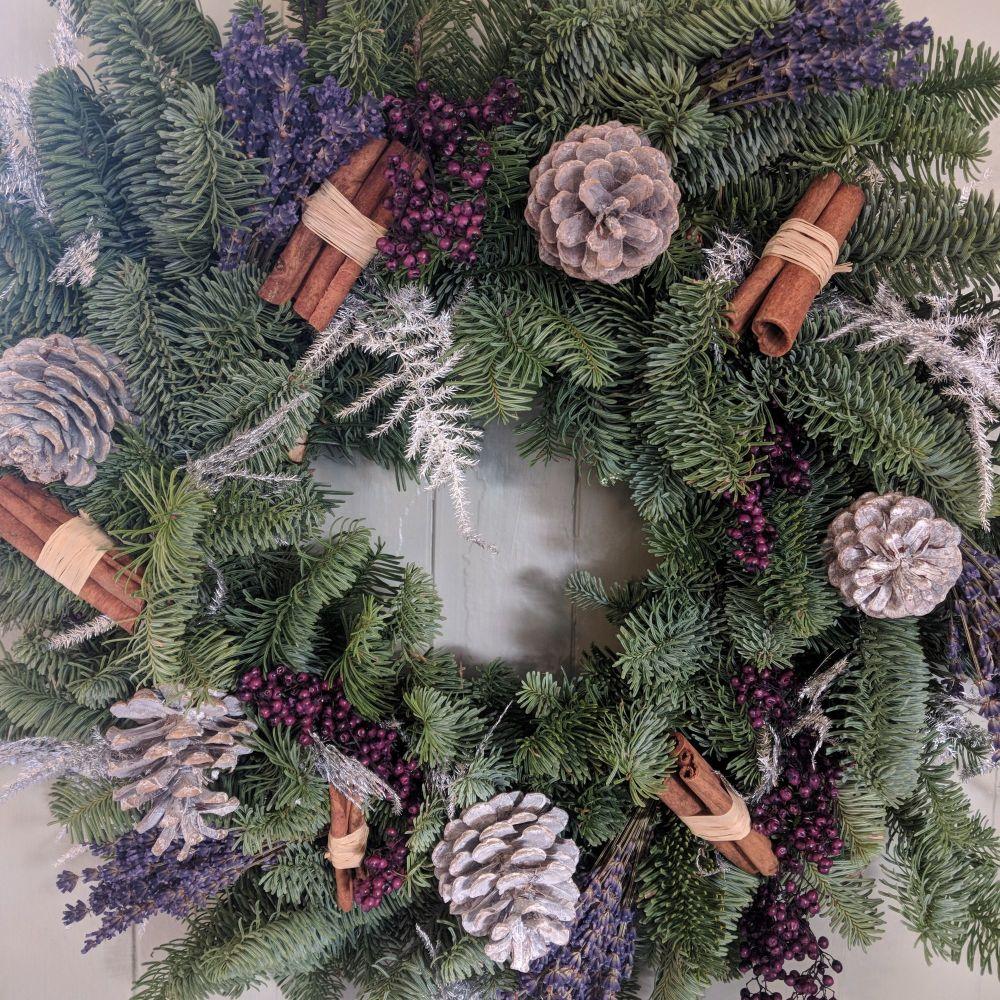 Lavender & Pepperberry Christmas Wreath
