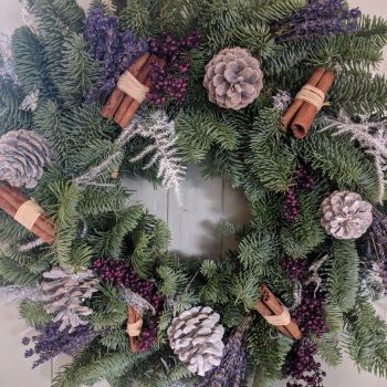 Lavender & Pepperberry Wreath