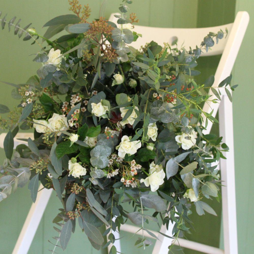 White Eucalyptus Bouquet