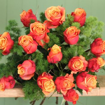 Orange Rose Bouquet. Price from