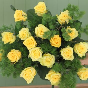 Yellow Rose Bouquet. Price from
