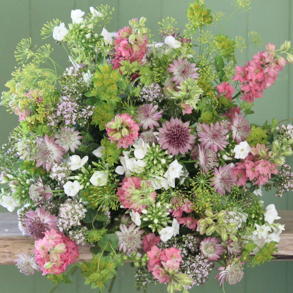 Cottage Garden Pink Bouquet. Price from