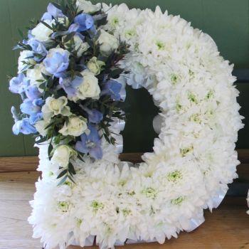 D A D - Pale Blue & White