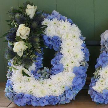 D A D - Blue & White
