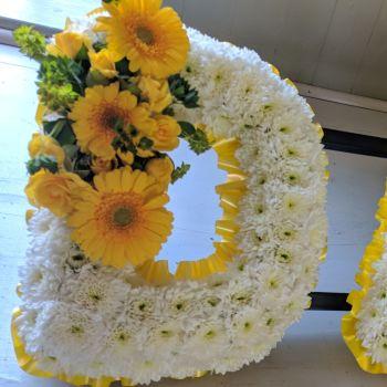 D A D - Yellow & White