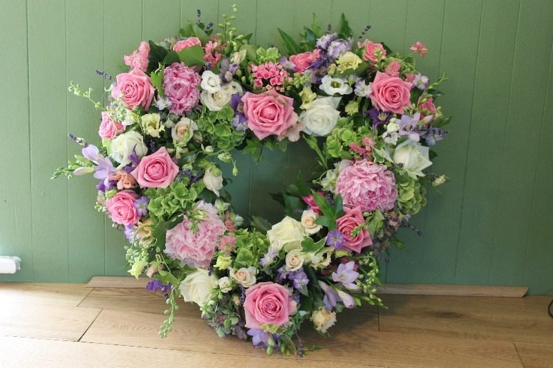Sussex Florist Delivering Beautiful Bespoke Heart Funeral