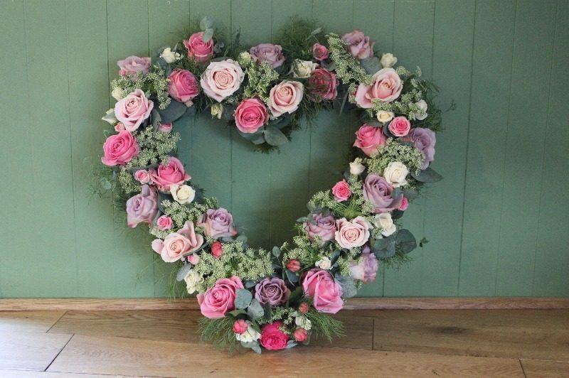c1 open rose heart