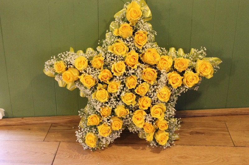 c1 2d yellow rose star