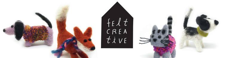 Felt Creative, site logo.