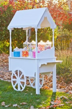Candy Buffet Cart