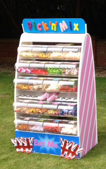 Pick and mix cart Pic