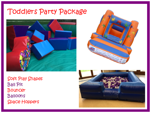 DLB Leisure - Toddlers Party Package