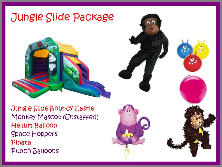 Jungle Slide Package 2015